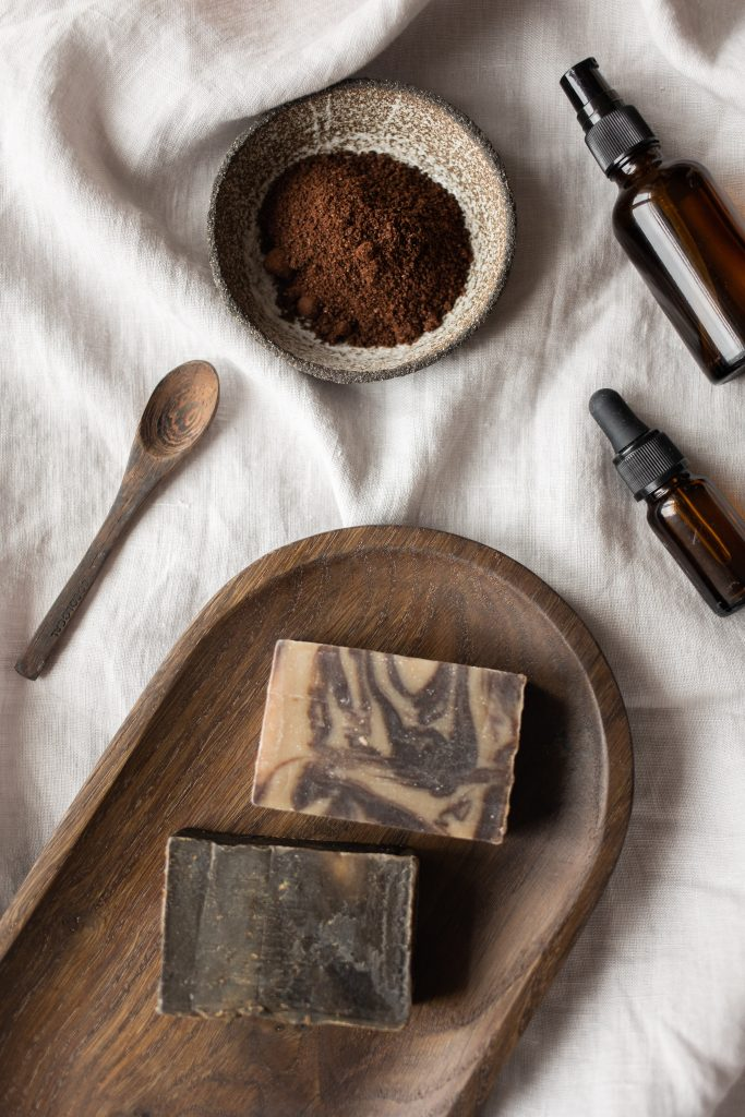 how to make coffee essential oil