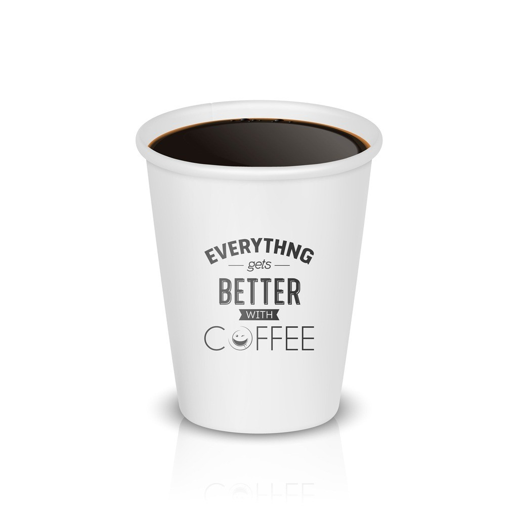 how many ounces in a styrofoam coffee cup
