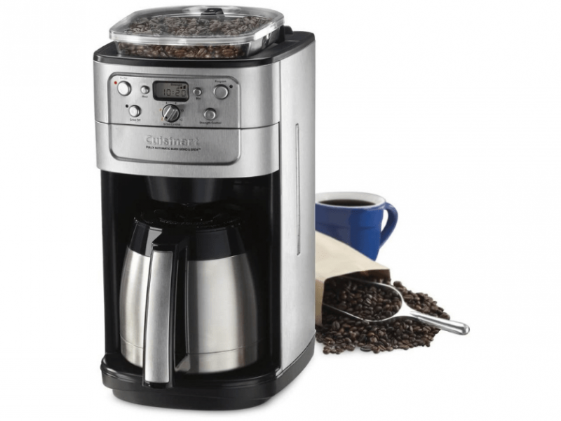 cuisinart coffee maker grind and brew reviews